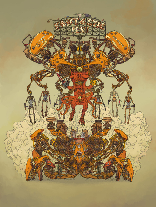 Poster by Geof Darrow