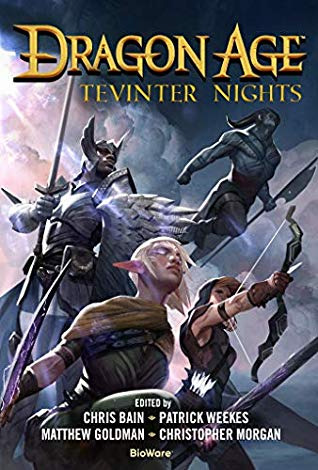 Dragon Age Tevinter Nights book cover.