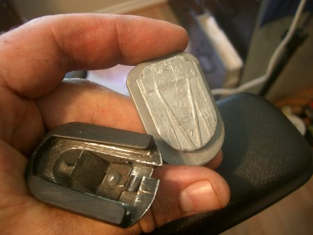 How to Remove a Donnelly Rearview Mirror from cket ... Magna Donnelly Mirror Wiring Diagram on